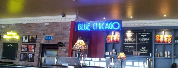 Blue Chicago Grill is one of Home.