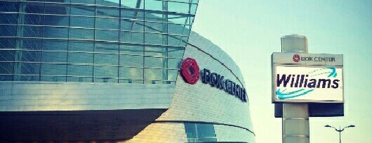 BOK Center is one of Locais curtidos por IrmaZandl.