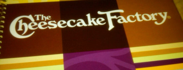 The Cheesecake Factory is one of Jose'nin Beğendiği Mekanlar.
