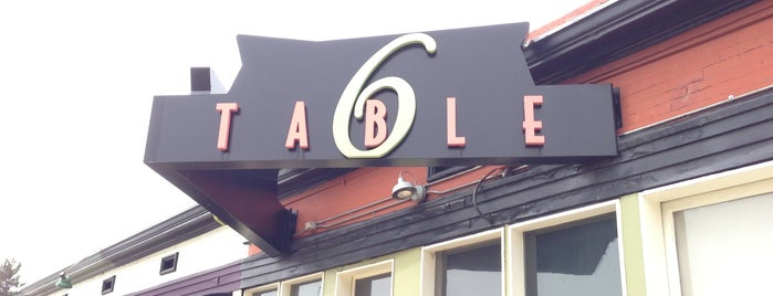 Table 6 is one of Best of Denver: Food & Drink.