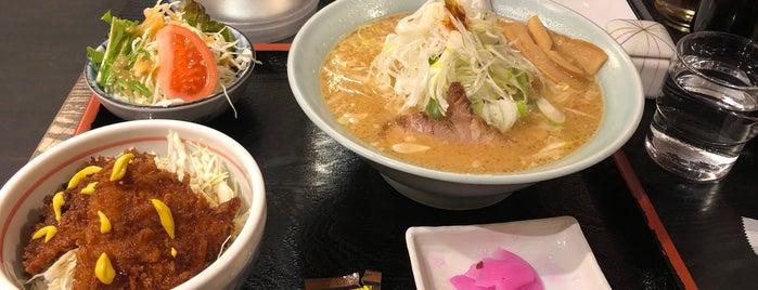 喜多方ラーメン めんこい駒ヶ根店 is one of 駒ヶ根ソースカツ丼会加盟店.