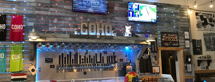 Coho Brewery is one of Philly.