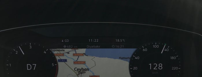 Adana-Ceyhan Yolu is one of Posti che sono piaciuti a Yılmaz.