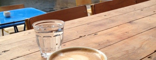 Towpath Cafe is one of Best of London.