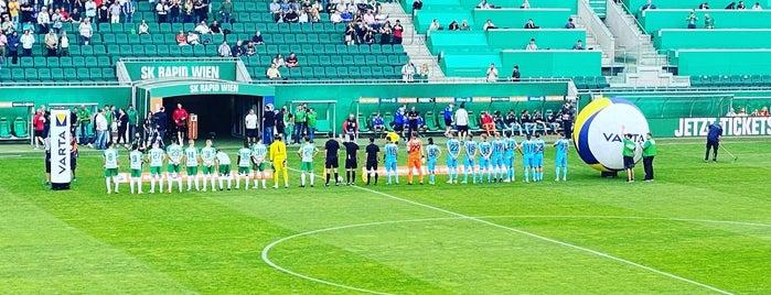 Allianz Stadion is one of my wien.