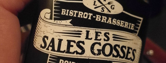 Les Sales Gosses is one of Puriさんのお気に入りスポット.