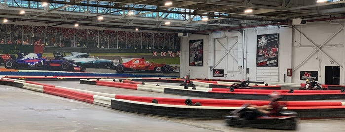 k1 speed is one of Daniel's Saved Places.