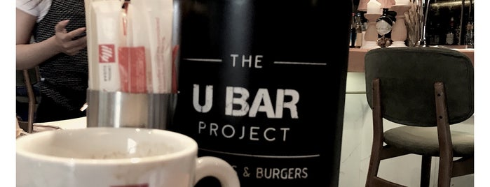 U BAR PROJECT is one of thessaloniki.