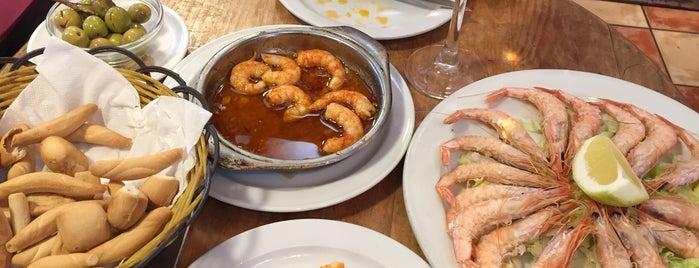 Mesón Antonio is one of Sol, playa y buenos restaurantes (Málaga).