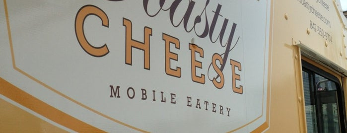 Toasty Cheese Mobile Eatery is one of Rockin the suburbs.