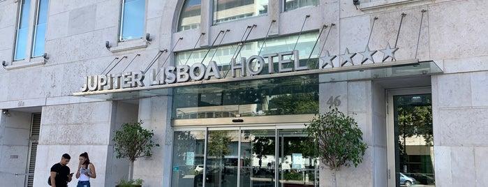 Jupiter Lisboa Hotel is one of Lisboa.