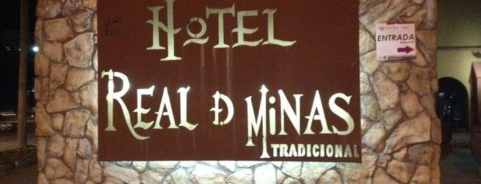 Hotel Real de Minas is one of สถานที่ที่ Elisheba ถูกใจ.