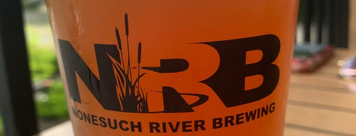 Nonesuch River Brewing is one of Portland ME.