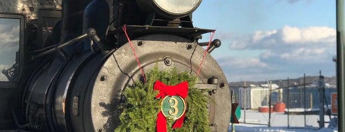 Maine Narrow Gauge Railroad Company & Museum is one of Maine Trip To Do.