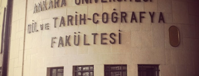 Dil ve Tarih - Coğrafya Fakültesi is one of Check-in 5.