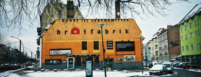 Brotfabrik is one of Tempat yang Disimpan i.am..