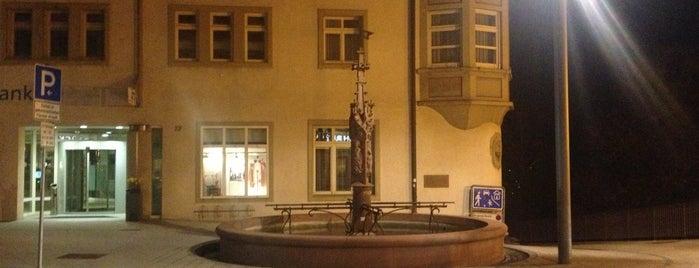 Brunnen an der Hochbrücke (Georgsbrunnen) is one of Historische Innenstadt Rottweil.