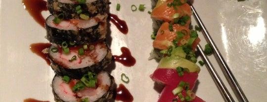 Yosake Downtown Sushi Lounge is one of Lieux sauvegardés par Elena.