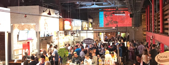 Morgan Street Food Hall is one of Raleigh/Cary/Durham, North Carolina.