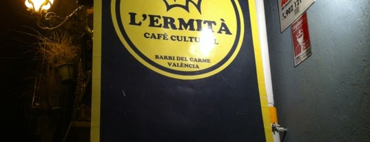 L'Ermità Café Cultural is one of Valencia - bars.