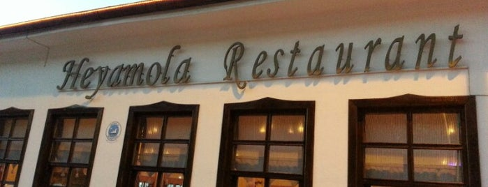 Heyamola Restaurant is one of Locais curtidos por İpek.