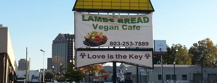 Lamb's Bread Vegan Cafe is one of V E G A N.