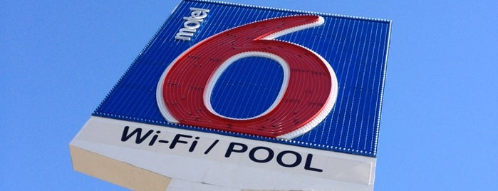 Motel 6 is one of How The West Was Won.