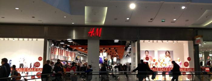 H&M is one of Berlin.