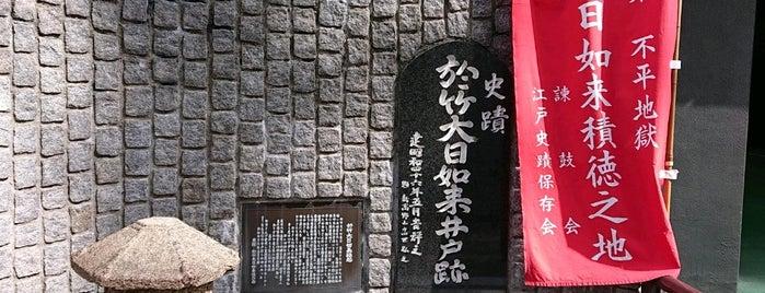 於竹大日如来井戸跡 is one of 記念碑.