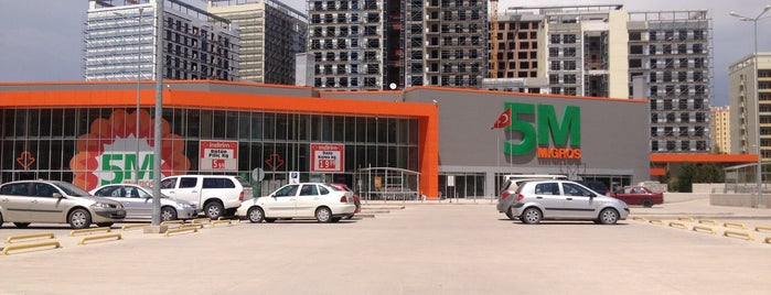 Migros is one of ANKARA AVM.