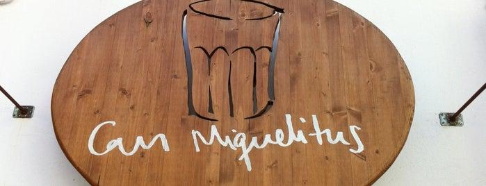 Can Miquelitus is one of Ibiza?.