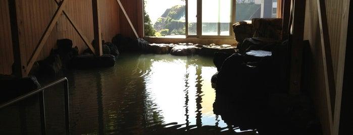 氷見岩井戸温泉 潮の香亭 is one of 訪れた温泉施設.
