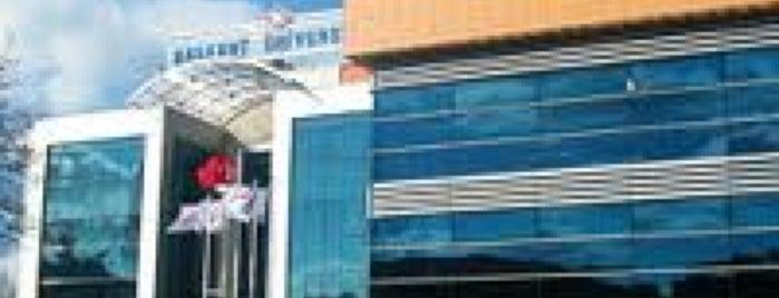 Başkent Üniversitesi İstanbul Hastanesi is one of Semin'in Beğendiği Mekanlar.