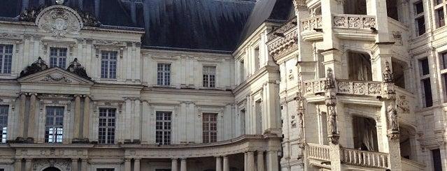 Château de Blois is one of Châteaux de France.
