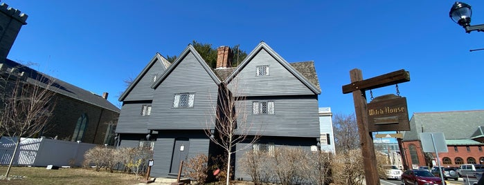 Salem Witch House is one of Things to do nearby NH, VT, ME, MA, RI, CT.