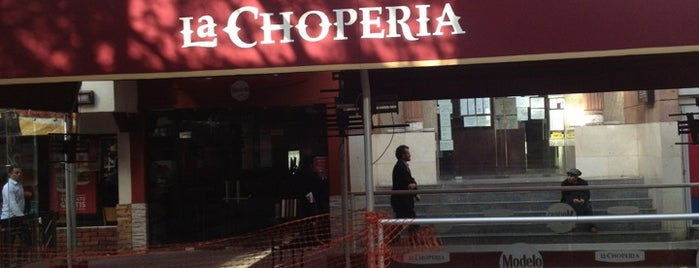 La CHOPERIA is one of Cheers.
