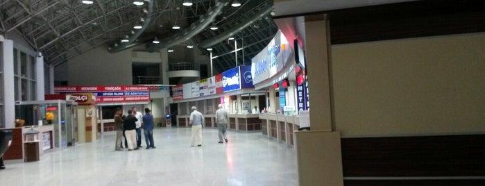 Bolu Şehirler Arası Otobüs Terminali is one of Dilara 님이 저장한 장소.
