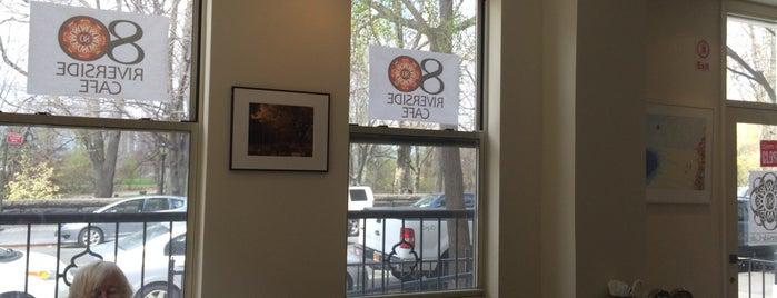 80 Riverside Cafe is one of Locais curtidos por Harvee.