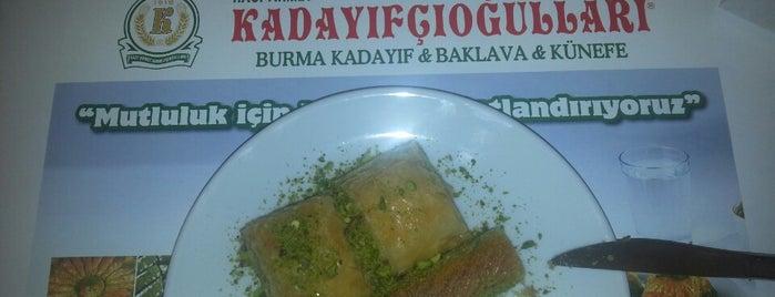 Hacı Abdullahogulları Baklava Kadayıf Kunefe is one of Istanbul.
