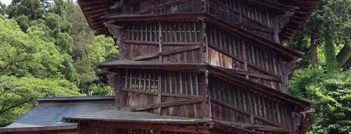 さざえ堂(旧正宗寺・円通三匝堂) is one of Masahiro : понравившиеся места.