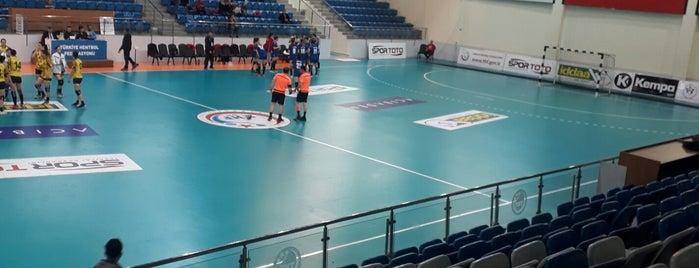 Türkiye Hentbol Federasyonu Spor Salonu is one of Ardaさんのお気に入りスポット.