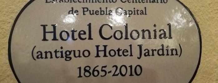Restaurante Hotel Colonial de Puebla is one of Orte, die Lennin gefallen.
