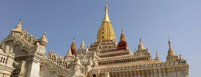 Ananda Pagoda is one of Bagan,  Myanmmar.