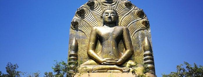 พระพุทธทวารวดีศรีปราจีน is one of สระบุรี, นครนายก, ปราจีนบุรี, สระแก้ว.