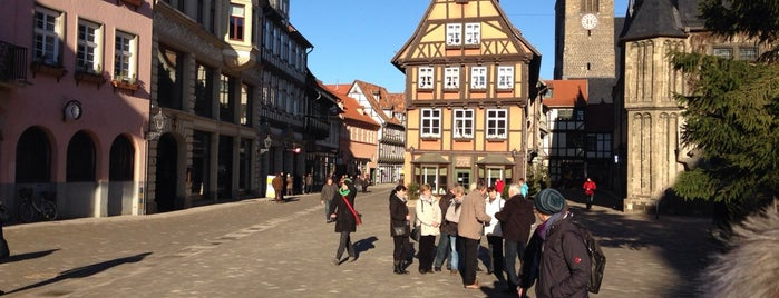 Marktplatz is one of Quedlinburg.