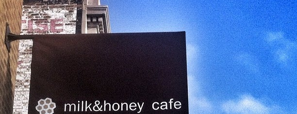 Milk & Honey Café is one of chic.