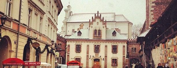 Brama Floriańska is one of Krakow.