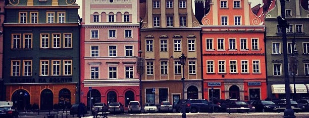 Plac Solny is one of Wroclaw to see/eat/drink (Poland).