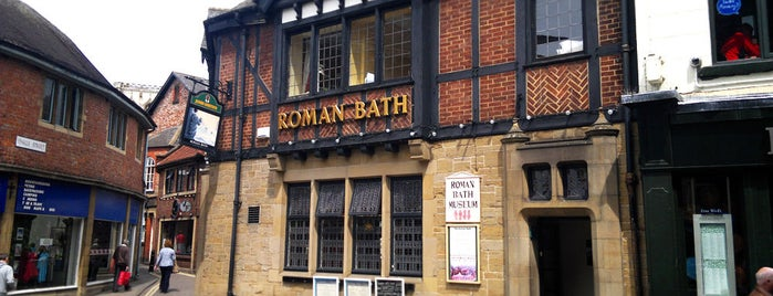 The Roman Bath is one of York.