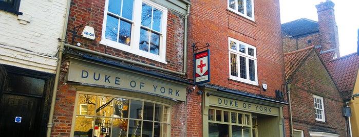 Duke of York is one of Mallory : понравившиеся места.